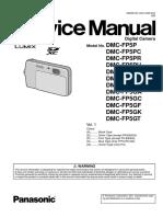 Panasonic Dmc-fp5pu Vol 1 Service Manual
