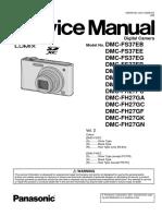 Panasonic Dmc-fh27pu Vol 2 Service Manual