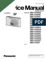 Panasonic Dmc-fs35eb Service Manual
