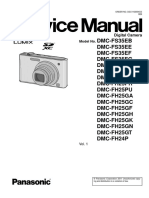 Panasonic Dmc-fs35eb Service Manual