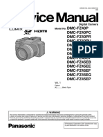 Panasonic Dmc-fz40pu Service Manual