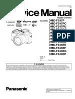 Panasonic Dmc-fz47 Vol 1 Service Manual