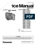 Panasonic Dmc-lx5pu Service Manual