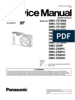Panasonic Dmc-zs8 Vol 2 Service Manual
