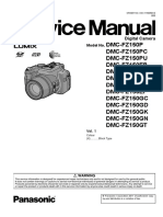 Panasonic Dmc-fz150pu Vol 1 Service Manual