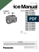 Panasonic Dmc-fz150pu Vol 1 Service Manual