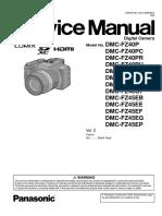 Panasonicdmc-fz40p_v2 Service Manual