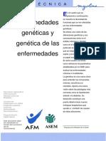 Enfermedades Geneticas y genetica de las enfermedades.pdf