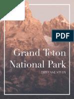 Grand Teton Book (Mock Case Study)