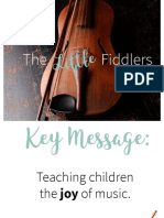 The Little Fiddler PR Book