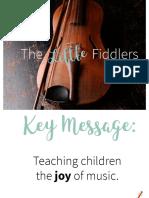 The Little Fiddler PR Book