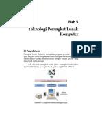 Bab 5 Teknologi Perangkat Lunak Komputer