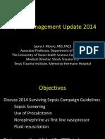 2014 Sepsis Management