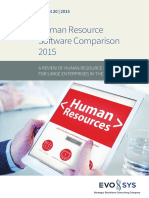 HR Software Comparison 2015