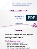 Pilot-Risk Assessment at Workplace