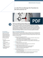HIPAA 5010 ICD-10 Transition
