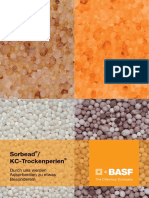 BASF Sorbead KC Trockenperlen Broschuere Deutsch