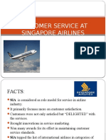 Singapore Airlines Service