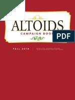 Altoids Booklet
