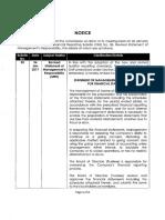 Financial Reporting Bulletin No. 20