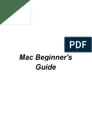 Mac Beginner | Finder (Software) | Mac Os