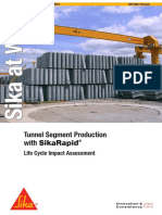 SIKA - Tunnel Segments Production with SIKA Rapid-1