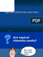 Topical Vitamines and Skin