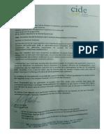 Carta de CIDE (1)