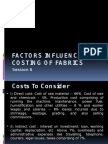 6. Factors Influencing Fabric Cost