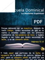 La Madurez Espiritual Extendida