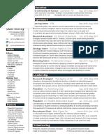resume - updated 1 30 2017