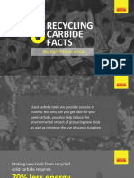 Recycling of Carbide Tools