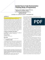 [2014] Improving Automated Source Code Summarization via an Eye-Tracking Study of Programmers