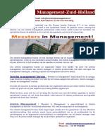 Interim Management -interim projecten- Meesters in Management