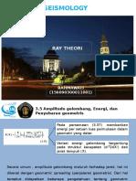 Seismology Ray Theory
