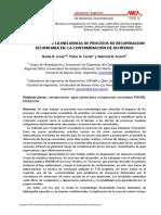 Evaluacion Influencia Procesos Recuperacion Secundaria en La Contaminacion de Acuiferos