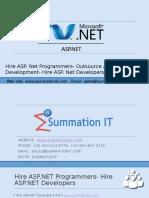 Hire ASP .Net Programmers- Hire ASP.Net Developers- Hire ASP.Net MVC Programmers