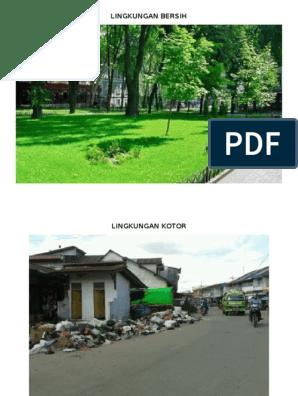 Lingkungan Bersih Dan Kotor