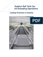 Molten Sulphur Rail Tank Car Loading and Unloading Operations Final With Appendices