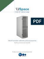 "USpace - 4210 19"" Cabinet Range"
