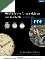 Glashütte GUB Uhren aus der DDR
