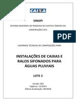 Sinapi Ct Lote2 Aguas Pluviais Caixas Ralos v003