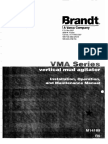 Brandt VMA Mud Agitator