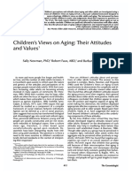 Children's Views on Aging