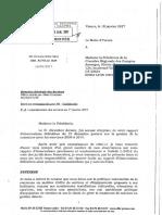 Rapport de la cour régionale des comptes