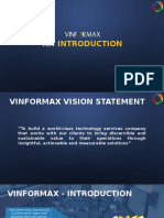 Vinformax Corporate Profile