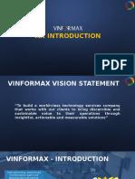 Vinformax Corporate Profile