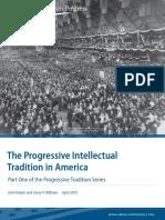 The Progressive Intellectual Tradition in America