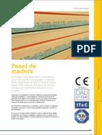 Panel Madera