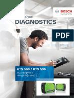 Bosch KTS 560 and KTS 590 Diagnostic Tools